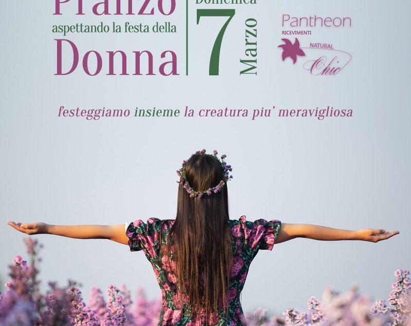 Aspettando la festa della Donna al Pantheon Ricevimenti di Corato in Puglia